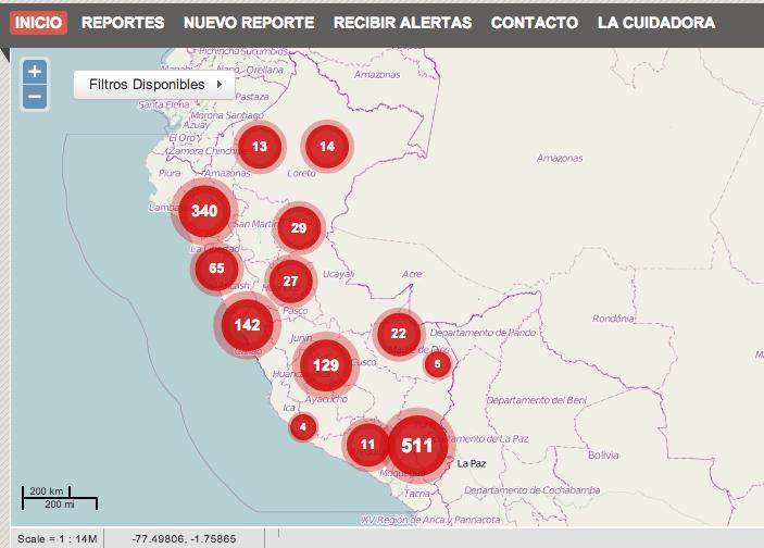 Contaminacion del agua en Peru - Comunidades Indígenas comprometidas