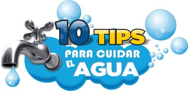 10 Tips para cuidar el agua