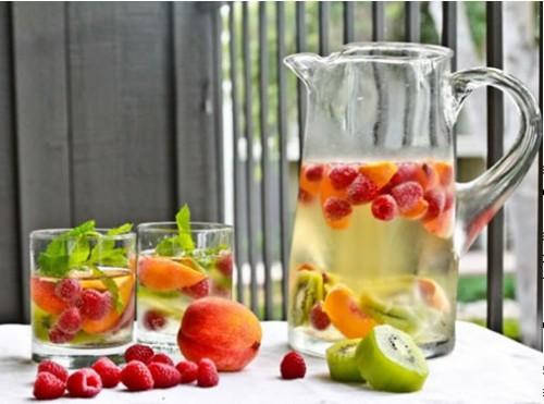 jarra de frutas