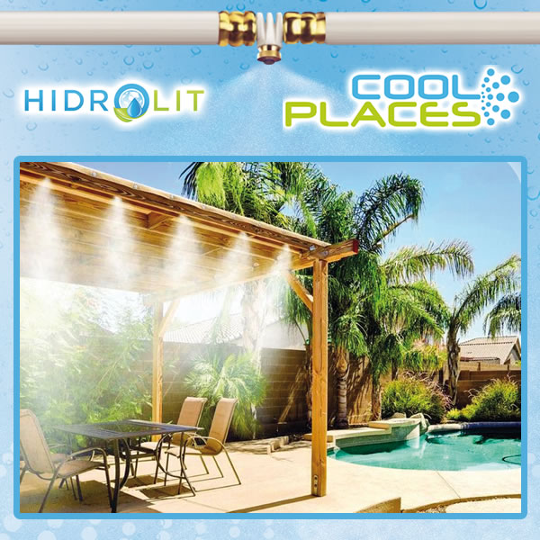 Cool Places - Sistemas para refrescar exteruires